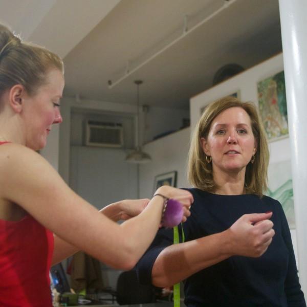 Beth's final arm measurement