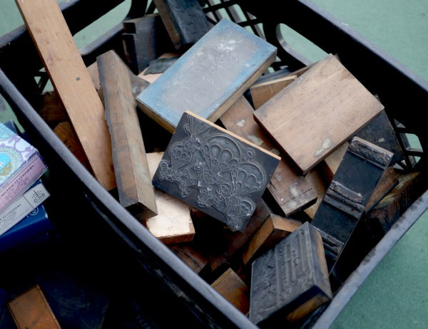 Antique inking stamps