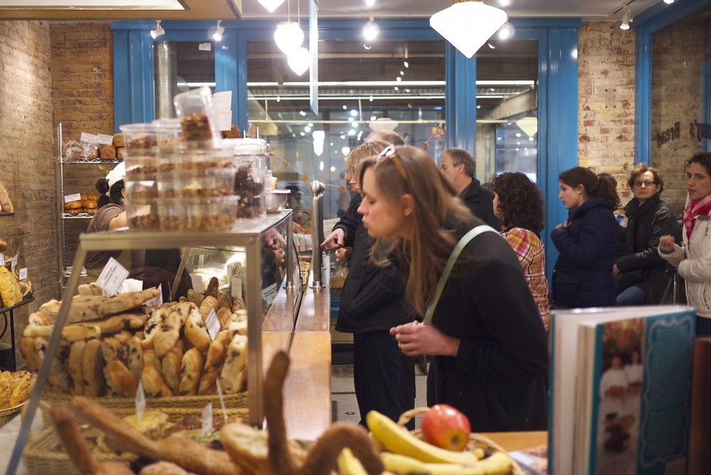 Newly Expanded Amy's Bread in Chelsea Market