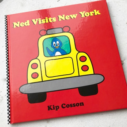 Ned Visits New York, by Kip Cosson