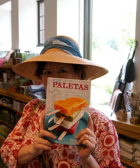 Found the Paletas cookbook by Fany Gerson in the Stone Barns Gift Shop