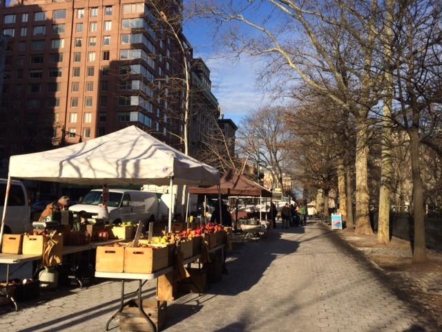 West 77th Street Greenmarket Winter