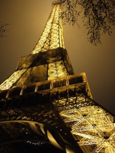 The Eifel Tower may be touristy, but I adore it and never tire of watching it sparkle at night.