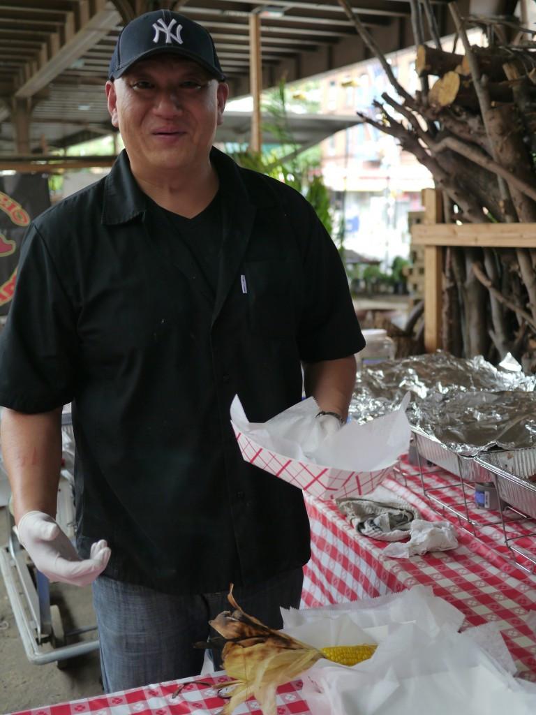 Pit Master and Chef Jon Ham at El Boar-Rio at Flea Marqueta