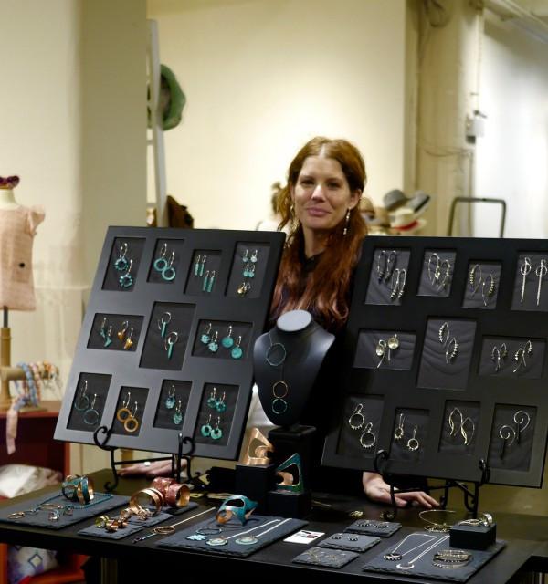 Elke Van Dyke at ID Pop in Chelsea Market