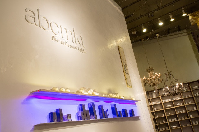 abcmkt is located on the lower level of ABC Carpet & Home (888 Broadway)