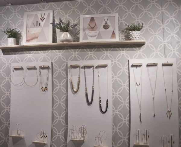 Victoria Beckerman's styish jewelry designs at the Grand Central Holiday Fair
