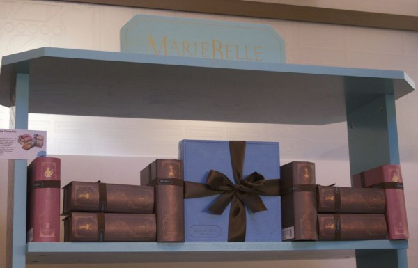 Marie Belle's Chocolate Shop features some of the loveliest packaging, like these book boxes.