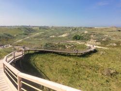 Aussichtsplattform auf der Norderney