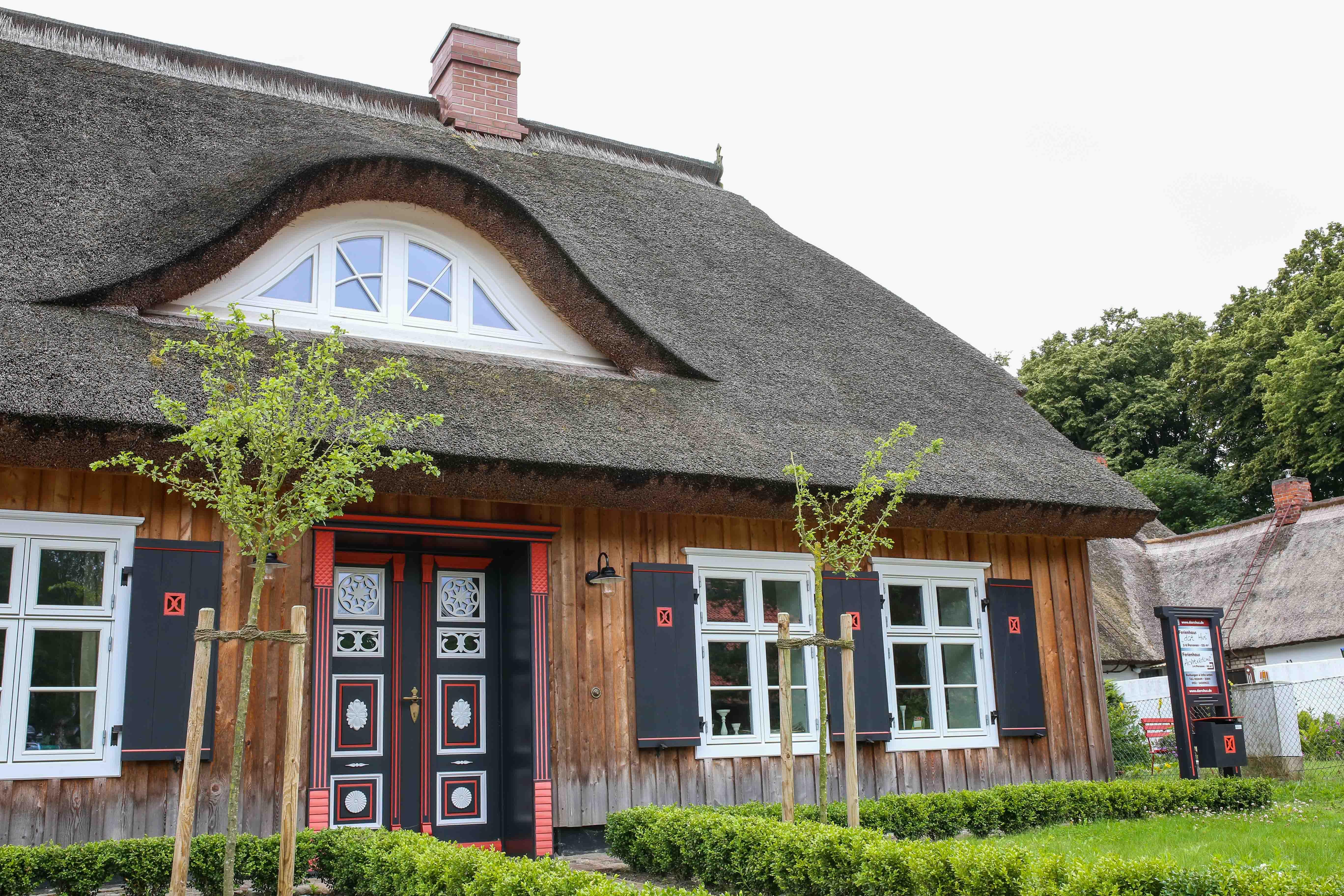 Wunderschöne Häuser an jeder Ecke
