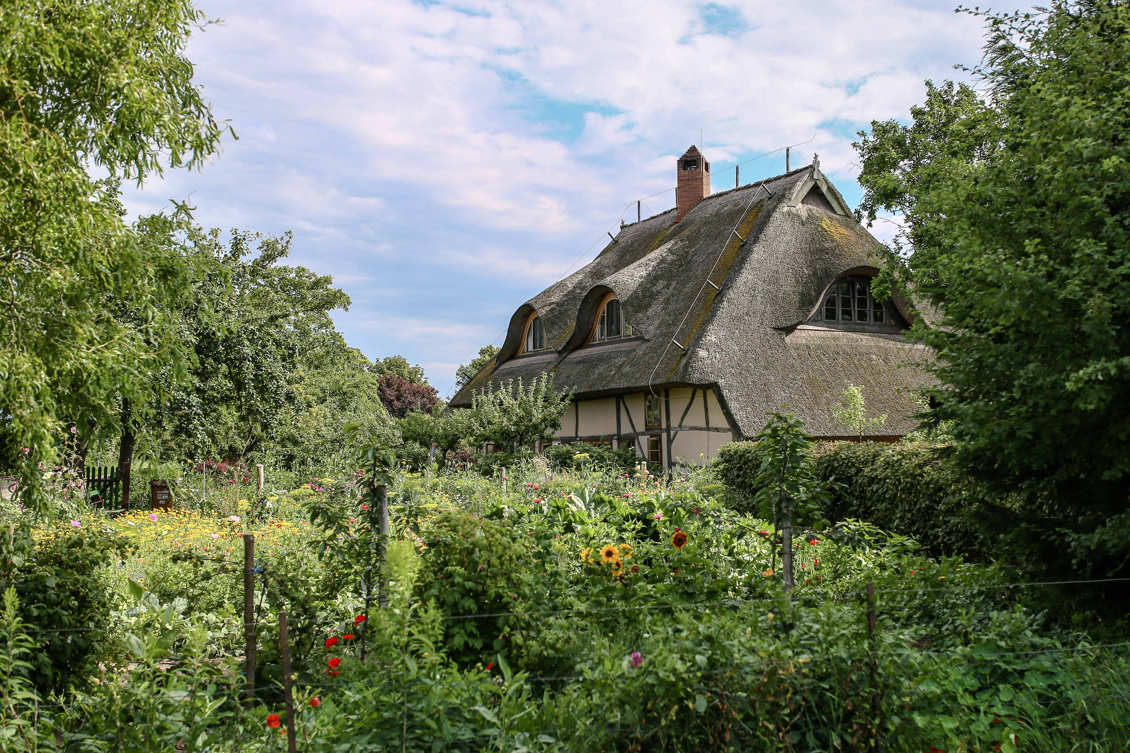 Ein typisches Bauernhaus