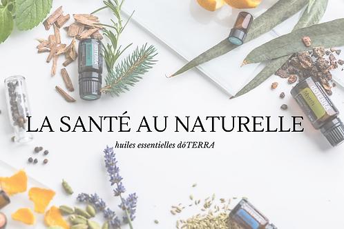 Solution naturelle avec les huiles essentielles _ Atelier