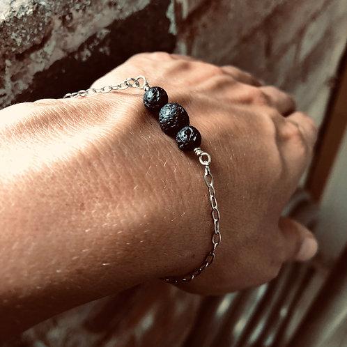 Classic & délicat bracelet diffuseur LAVA