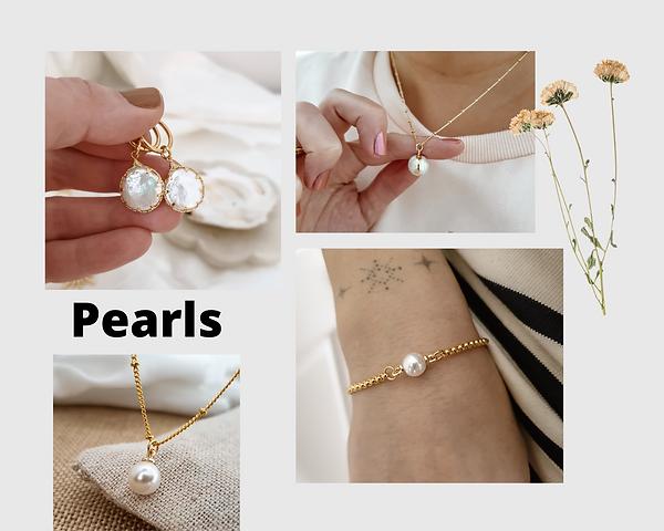 modern pearl jewellery