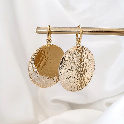 Large Statement Hoop Earrings