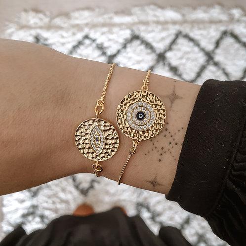 Evil Eye Charm Bracelet Gift Set