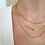 Thumbnail: Dainty Gold Necklace Gift Set