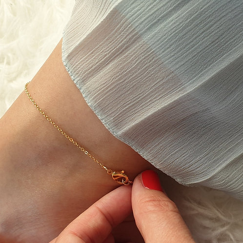 Ultra Thin Chain Anklet