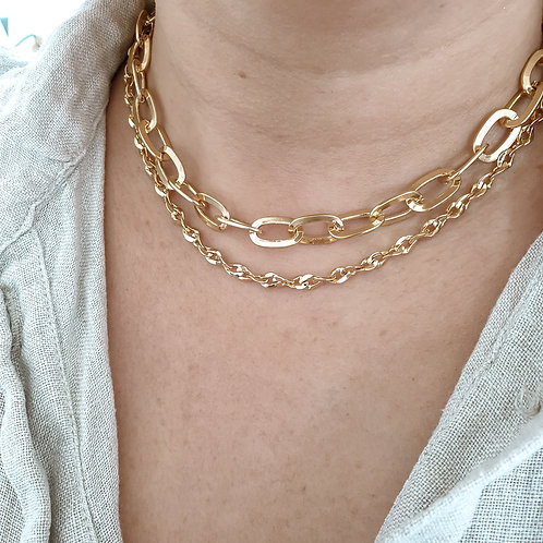 Link Chain Layering Set