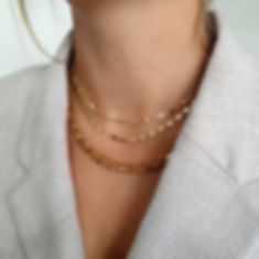 Gold Chain Layering Set