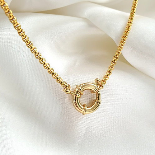 Spring Clasp Necklace
