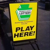 Lottery Curb Sign