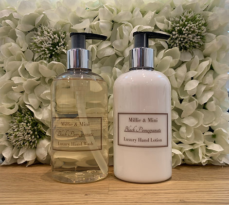 Black Pomegranate Hand Wash & Lotion