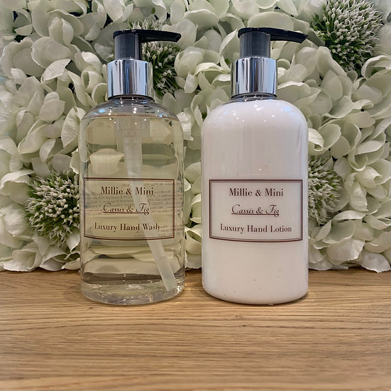 Cassis & Fig Hand Wash & Lotion