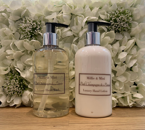 Pink Champagne & Pomelo Hand Wash & Lotion