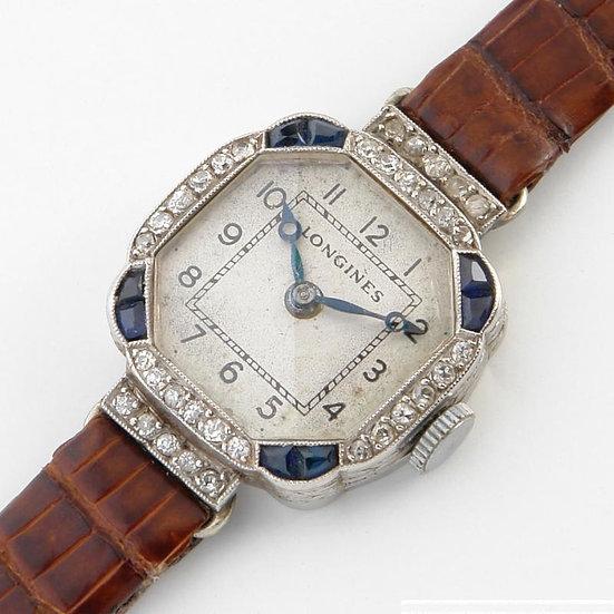 Женские наручные золотые часы Longines - 1914 год