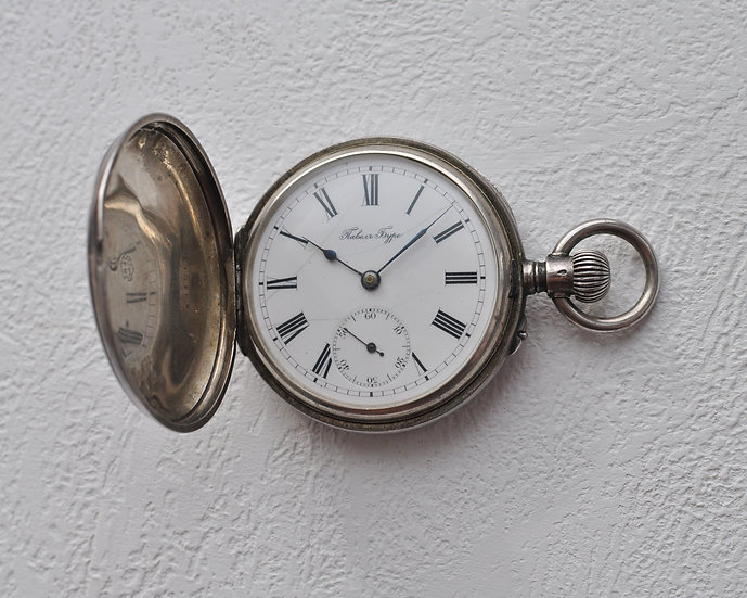 Старинные серебряные часы Павел Буре