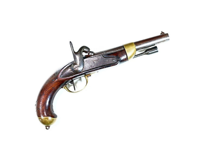 Французский капсюльный пистолет 1822 года