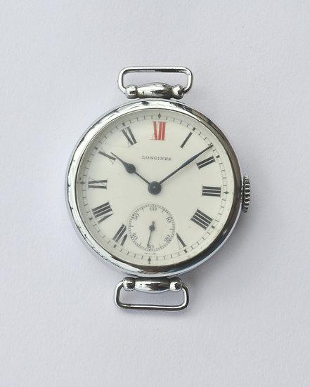 Мужские наручные часыLongines - 1912 год