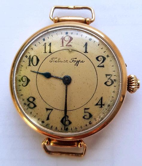Золотые наручные часы Павел Буре