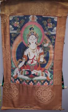 Старинная тханка (Буддийская живопись)