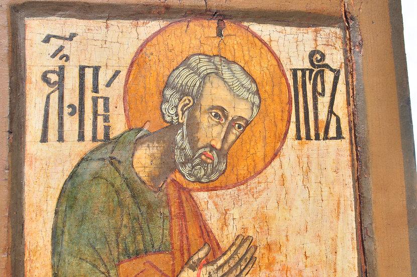 Икона Апостол Пётр. Конец 17 века