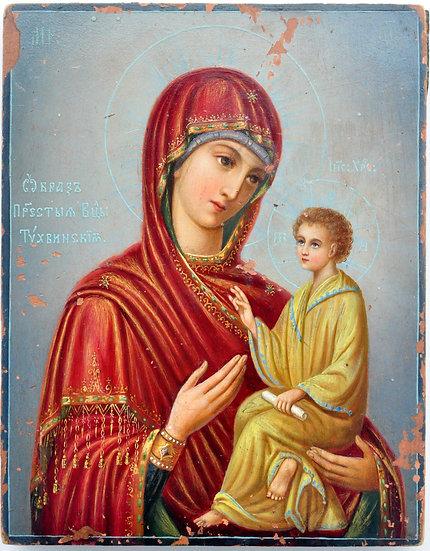 Икона Тихвинской Божией Матери