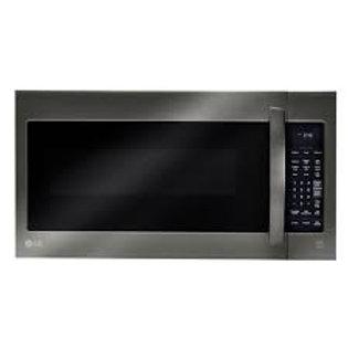 LG 2CF OTR Microwave w/EasyClean® in Black Stainless