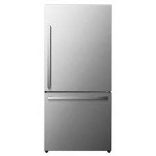 Hisense 17CF Bottom Freezer Stainless Refrigerator