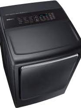 Samsung 7.4CF Electric Dryer in Black Stainless