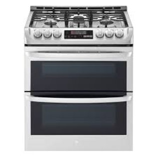 LG 6.9CF wi-fi Slide-In Double Gas Stainless Range w/ProBake and EasyClean