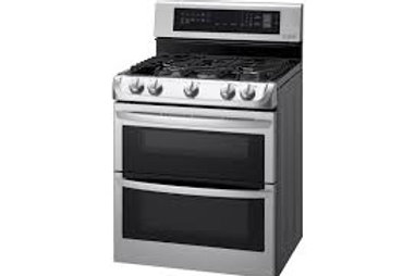 LG 6.9CF Double Gas Convection Stainless Range