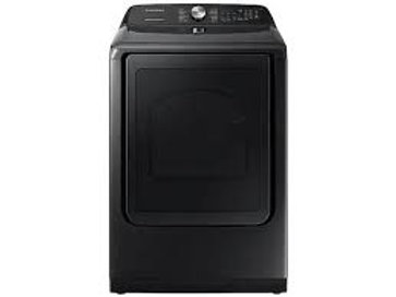 Samsung 7.4CF Gas Dryer with Steam Sanitize+ in Black Stainless