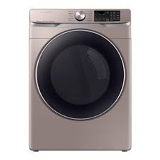 Samsung 7.5CF Smart Electric Dryer with Steam Sanitize+ in Champagne
