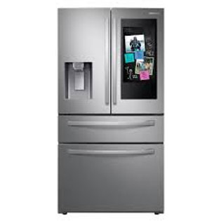 Samsung 22CF Counter-Depth Family Hub™ Stainless Refrigerator