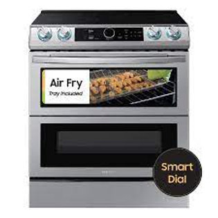 Samsung 6.3CF Flex-Duo Smart Slide-In Electric Double Oven with AirFry