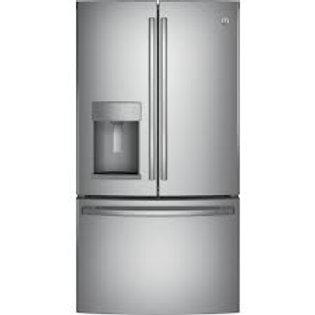 GE® 28CF Stainless Door-In-Door Refrigerator