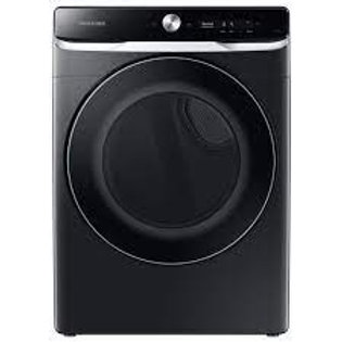 Samsung 7.5CF Gas Dryer w/Smart Dial, Super Speed and Steam in Brushed Black
