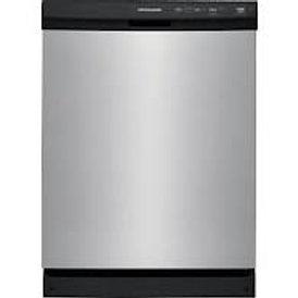 Frigidaire 60 dBA Stainless Dishwasher