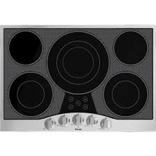 """Viking 30"""" 5-Burner Stainless Electric Cooktop"""